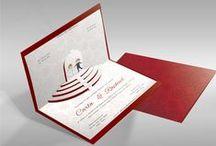Convites de Casamento / Requinte, sofisticação e elegância!