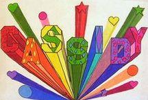 School HV tekenideeën