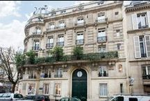 Parisian Façades / A+B Kasha is proud of the apartments we renovate in Paris 6th and 7th arrondissements, but we also love the beautiful buildings where our apartments are found.  Paris' rich architecture is evident throughout Paris and particularly on the Left Bank.