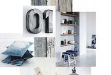moodboard styling and decoration