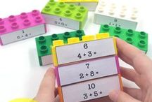 LEGO Math Activities / Teaching math in a fun hands on way is easy when you use LEGO bricks! Follow this board for all the best LEGO math lessons, games and ideas!