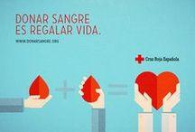 Donante de sangre / Información dobre la donación de sangre, requisitos y razones para donar sangre. Dona sangre, dona vida