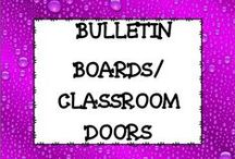 Bulletin Boards/Classroom Doors / This board is dedicated to ideas for bulletin boards and classroom doors. You will find many ideas for back to school, holiday, motivational, and many other topics.