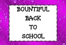 BOUNTIFUL Back to School IDEAS / This board is dedicated to ideas, tips, and products that will help you with your back to school needs.  This board will help you with open house ideas, student gifts, colleague gifts, and other back to school needs.