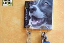 KEY HOLDER - PORTACHIAVI DA PARETE / Una simpatica idea per raccogliere le chiavi di casa! -  A nice idea to hold your keys!