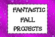 Fantastic Fall Projects K-6 / This board is dedicated to fall projects for the classroom.