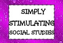SIMPLY STIMULATING SOCIAL STUDIES / ALL THINGS SOCIAL STUDIES FOR SCHOOL AND HOME