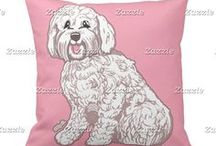 Artisan Abigail Pillows: Dogs & Cats / Includes my original pillow designs on Zazzle! © Abigail Davidson