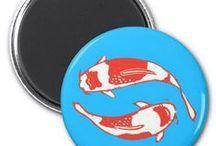 Artisan Abigail Magnets / Includes my original magnet designs on Zazzle! © Abigail Davidson Art