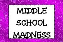 Middle School Madness / Welcome to all things MIDDLE SCHOOL!  Contributors: PLEASE do NOT post product cover pages.  Let's make sure we are showing people our great material! If you re-pin a pin PLEASE delete the original pin afterward.  Thanks so much! If you would like to pin on this board please email me at mamapearson76@ gmail.com