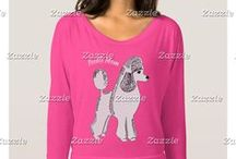 Artisan Abigail Clothing Designs: Dogs / Includes my original art designs on women's clothing at Zazzle. © Abigail Davidson -- Thank you for visiting!