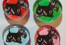 My Handmade Magnets / Includes my original artworks as handmade magnets! © Abigail Davidson Art