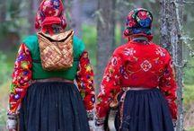 Bunad-ish / Bunad folkedrakter festdrakter national costumes