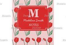 Artisan Abigail Notebooks / Includes my original artwork on notebooks at Zazzle! © Abigail Davidson Art