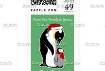 Artisan Abigail Postage Stamps / Includes a selection of my original postage designs on Zazzle! © Abigail Davidson Art