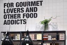 Delicatessen Shop. Al Dente Bilbao / Tiendas de Alimentación Chulas
