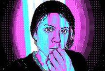 To do pixel art / Pixel art, polygon art, pointillism