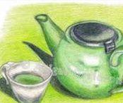 My Food Art / © Abigail Davidson Art -- Includes my original and handmade food-themed artwork.