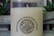 Candle Creations For Sale / Beautifully handpoured Soy Candles which have been indivually designed and created with love.