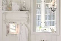 Bathroom inspiration / Country bathrooms