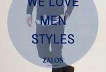 Zalon ♥ Men Styles / Ob du in deinem Lieblingscafé sitzt oder einen Spaziergang machst, mit diesen Outfitideen machst du immer eine gute Figur. Lass dich jetzt inspirieren.
