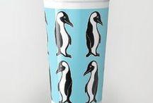 Society6: My Mug Designs / All Designs © Abigail Davidson -- Includes my original designs at Society6!