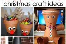 Christmas Pot Crafts / If you are creative this is the section for you when it comes to fun Christmas decorations.  Be inspired!