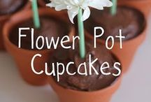 Food in Flowerpots / What could be more fun than growing items to eat in garden pots.  Perfect for the apartment dwellers, healthy minded folks & anyone who likes to try something new.