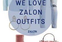 Zalon ♥ Our Outfits / Dein Zalon Stylist kennt sich bestens mit Dresscodes aus und weiß genau, was zueinander passt. Ob das Kleid für einen besonderen Anlass oder das Outfit für dein Bewerbungsgespräch. Auf deine persönlichen Vorlieben stellt er sich ein und erstellt kostenlos dein Outfit für einen besonderen Anlass zusammen.  Lass dich von neuen Styles inspirieren!