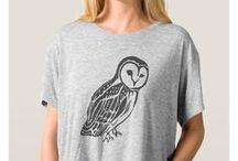 Artisan Abigail Clothing Designs: Birds / Includes my original art designs on women's clothing at Zazzle. © Abigail Davidson -- Thank you for visiting!