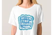 Artisan Abigail Clothing Designs: Typography / Includes my original typography art on women's clothing at Zazzle. © Abigail Davidson -- Thank you for visiting!
