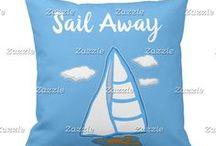 Artisan Abigail Pillows: Fantasy & Nautical / Includes my original pillow designs on Zazzle! © Abigail Davidson