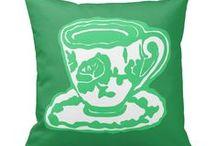 Artisan Abigail Pillows: Objects / Includes my original pillow designs on Zazzle! © Abigail Davidson