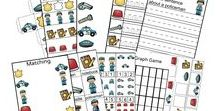 Printable Pre-K Packs / Looking for some awesome Printable Pre-K Packs! This are so helpful when planning your unit themes or just have hanging around. Kids love them!