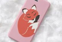Artisan Abigail iPhone Cases: Mixed Animals / My electronic accessory items on Zazzle! All designs are original. © Abigail Davidson.