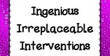 Ingenious Irreplaceable Interventions / Please only pin INTERVENTION products, ideas, or pictures. Pins can be for ANY subject as long as they are actual interventions.  I will have to delete pins which are not actual interventions.  Thanks and happy pinning! Want to join the board?  Please email me at mamapearson76@gmail.com
