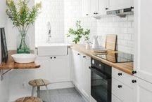 Interior Design | Small Apartment Inspiration / Small apartment inspiration.