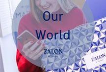 Zalon ♥ Our World / Tauche ein in die wundervolle Welt von Zalon und unseren persönlichen Stylisten, die nur darauf warten, dir dein perfekt auf dich abgestimmtes Outfit zu kreiiern.  Werde selber Teil von Zalon und lebe deinen Traum als selbständiger Stylist!