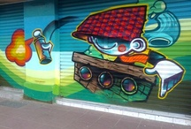 Ciudad Ilustrada / Graffiti, murales, pictures, mosaicos, etc.
