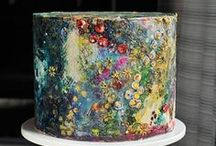 Painting on Cakes