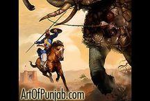 Sikh Art / #SikhArt #sikhpaintings #artofpunjab #sikhartwork #punjabiart #sikhi #sikhism #sikhculture #sikhlifestyle #sikhpeople #sikhhistory #homedecor