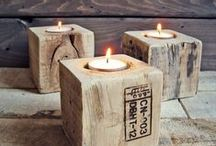 With Reclaimed Wood / Pallet furniture and other great things to build with reclaimed wood