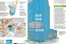 Architecture infographics / Some of the work we do at Graphics24.