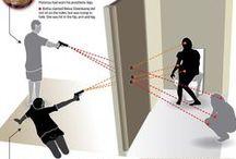 Oscar Pistorius infographics / Infographics about Oscar Pistorius court case