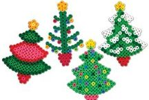 Hama beeds - christmas tree