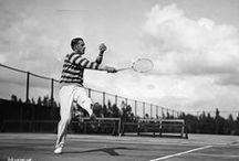 """Bill Tilden / Il campione statunitense """"Big Bill"""" forse tra i più influenti giocatori di tennis di tutti i tempi, fra gli #inspirator della #springcollection"""