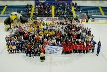 Pullar Stadium for Kraft Hockeyville USA / Sault Ste. Marie, MI is the original hockey town USA. The Sault has multiple ice rinks and the Pullar Stadium has been nominated to be named Kraft Hockeyville USA.  / by Sault Ste. Marie Convention & Visitors Bureau