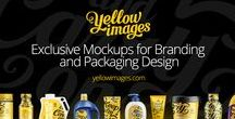 Promotion / Yellow Images is an online marketplace of unique mockups and templates for your design projects, presentations and other creative solutions.
