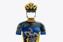 Sport Garments Mockups / Basketball, cycling, training and other kits, netball dresses etc
