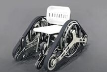 Wheelchairs Past & Present / Pins we love showcasing wheelchairs of the past, today and futuristic technology. See awesome videos at SPINALpedia.com - 4,000+ organized spinal cord injury videos.